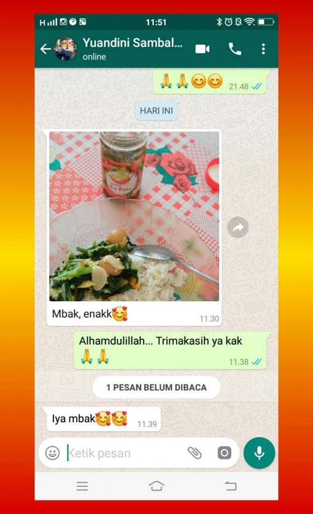 Sambal Kemasan Sambal Cumi Semarang