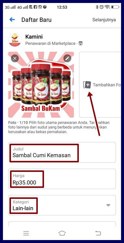 cara aktifkan marketplace facebook
